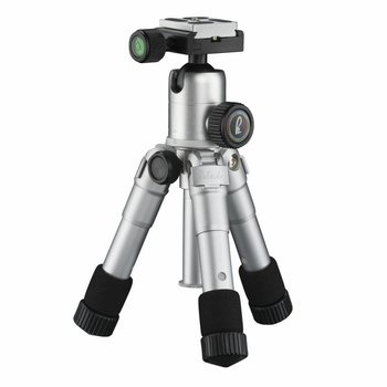 mantona Mini Tripod Kaleido shining Silver metallic