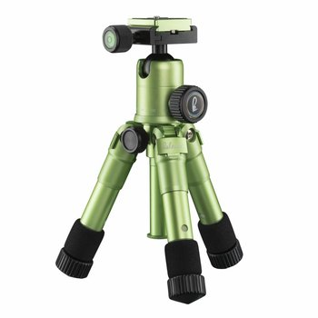 mantona Mini Tripod Kaleido lime green metallic
