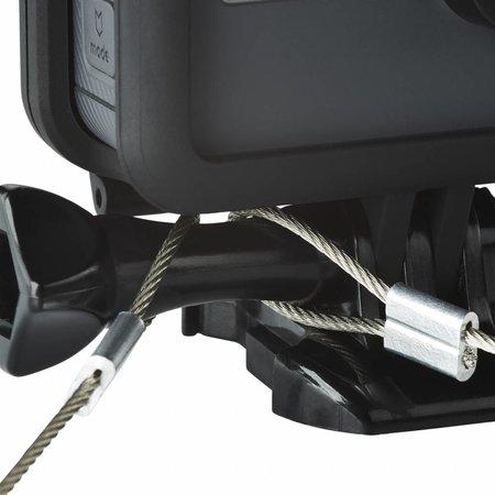 mantona GoPro Veiligheidskabel hoogwaardig staal 40 + 100cm