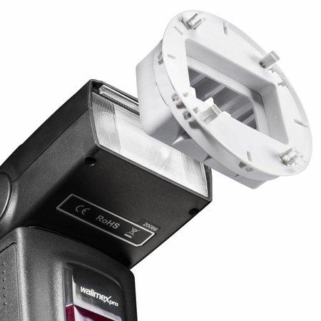 Walimex Flash-houders, 7 stuks SonyF32X / Canon430EX