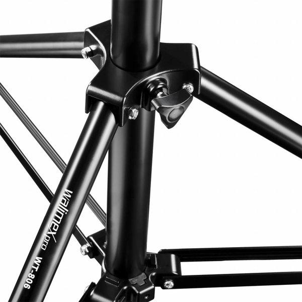 Walimex Lampstatief WT-806 Set van 3, 256cm