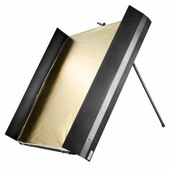 walimex pro Studio Reflector Panel with Barndoors, 1x1m
