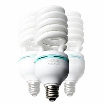 Walimex Spiral-Tageslichtlampe 85W, 3er Set