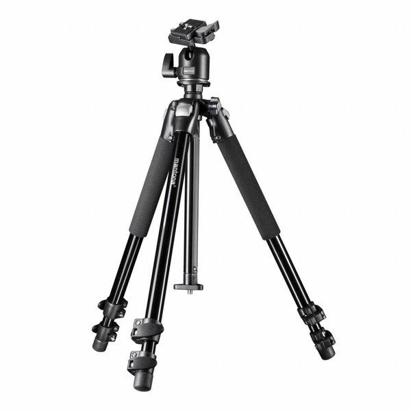 Mantona Macro II Camera Statief Pro + Balhoofd