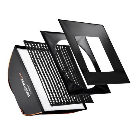 Walimex Pro Softbox Vierkant Plus OL 60x60cm | Diverse merken Speedring
