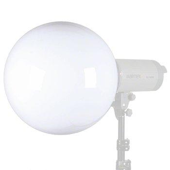 Walimex Pro Spherical Diffuser 40 cm | Für verschiedene marken