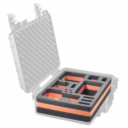 mantona Outdoor Schutz-Koffer M Einlage f. GoPro