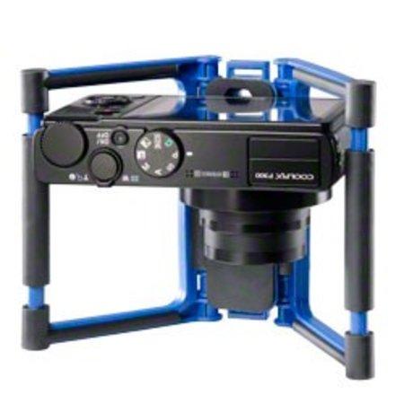 Walimex Pro * Gary Fong Flip Cage Blauw Tafelblad Standaard