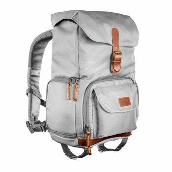 Mantona Photo Backpack Luis Junior Grey, retro