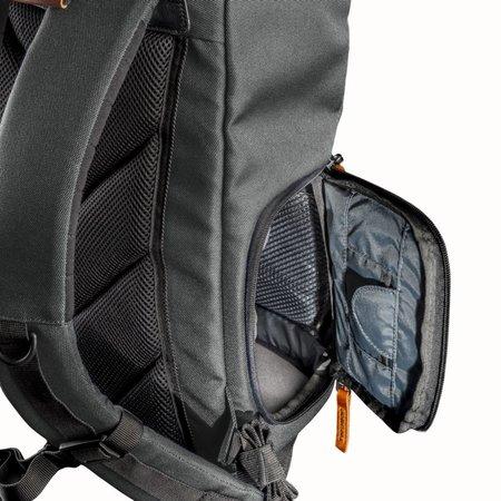 mantona Camera Backpack Luis junior, Retro Green