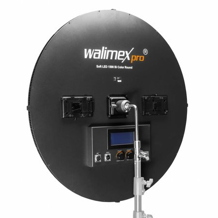 Walimex Pro Soft LED 1500 Bi Color Round