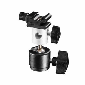 Walimex Pro Schirm- und Blitzhalter mit Kugelkopf