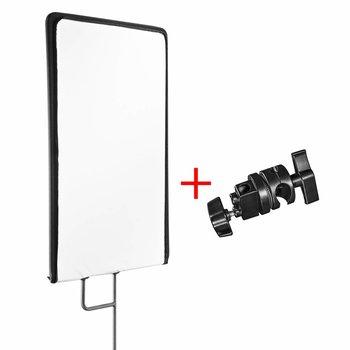 Walimex Pro Studio Reflector Panel Set 4in1, 60x75cm + clamp
