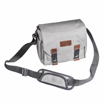 mantona Camera Bag Milano piccolo grey