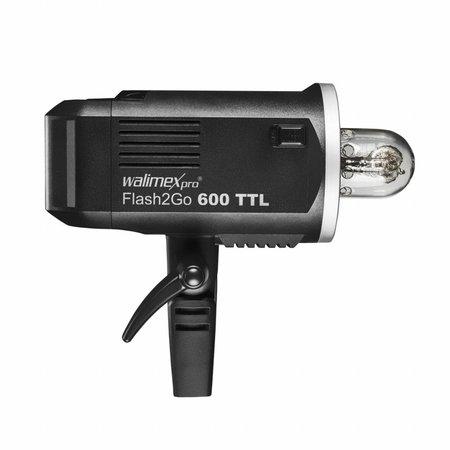 walimex pro Studio Flash Head Portable  Battery 2Go 600 TTL