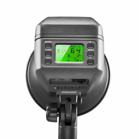 walimex pro Studio Flitser Mover 400 TTL batterij