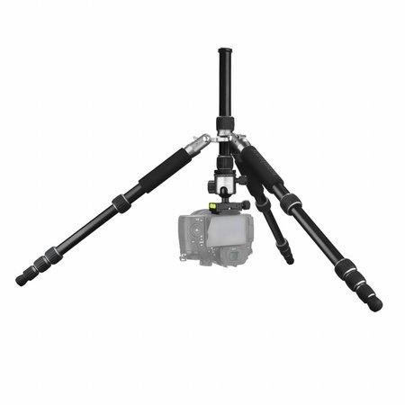 mantona Camera Tripod Light Traveller Black/Gray