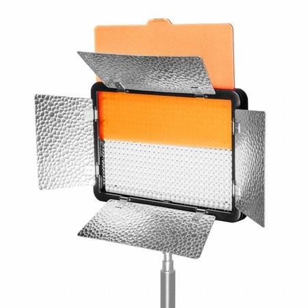 walimex pro LED 5 Versalight Daylight Set 2 batterij