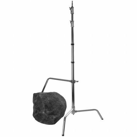 Lampenstativ Aluminium mit verstell. Fuß, 320cm