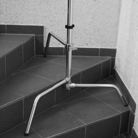 Lampstatief Aluminium met Verstelbare voet, 320 cm