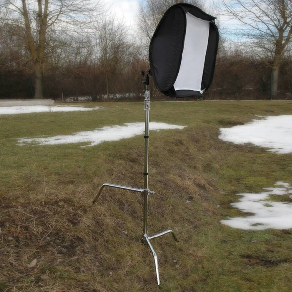 Walimex Pro Lampstatief Aluminium met Verstelbare voet, 320 cm