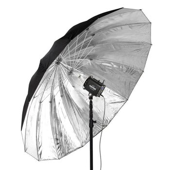 "Paul C. Buff 86"" Soft Silver PLM Umbrella"