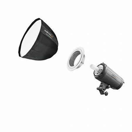 walimex pro SL Deep Rota Softbox QA70 | für verschiedene marken