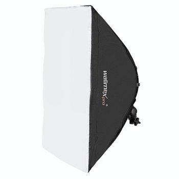 Walimex Pro LED Dauerlicht Softbox 50x70cm Niova 800 Round