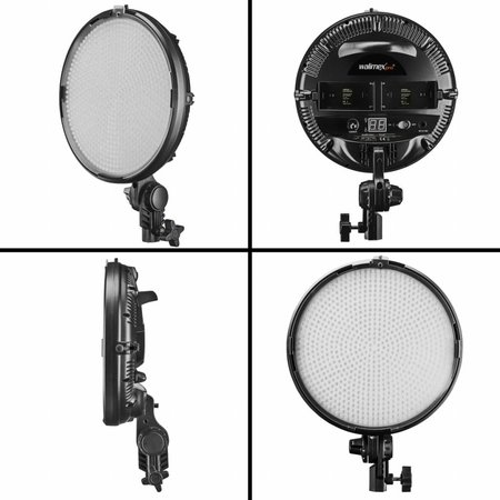 walimex pro LED Niova 800 Plus Round Daylight