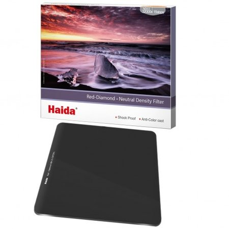 Haida ND Filter 6 Stops 150x150mm ND1.8 64x Red Diamond