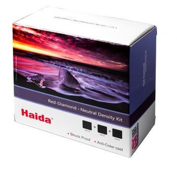 Haida ND Filtert Kit 6-10-15 Stops 100x100mm Red Diamond