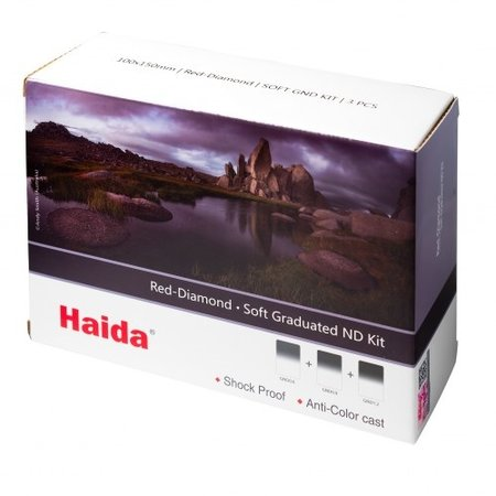 Haida Soft Graduated ND Filter Set 150x170mm Red Diamond