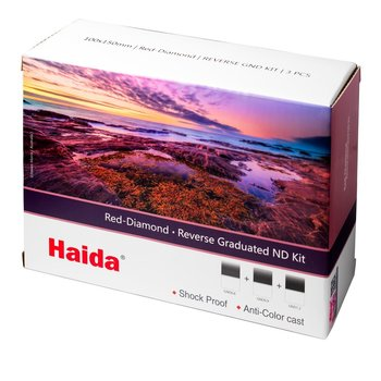 Haida Reverse Graduated ND Filter Kit 150x170mm Red Diamond