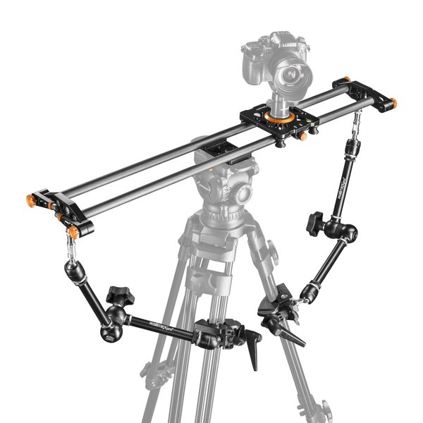 Mantona Carbon Camera Slider 8 Support Set