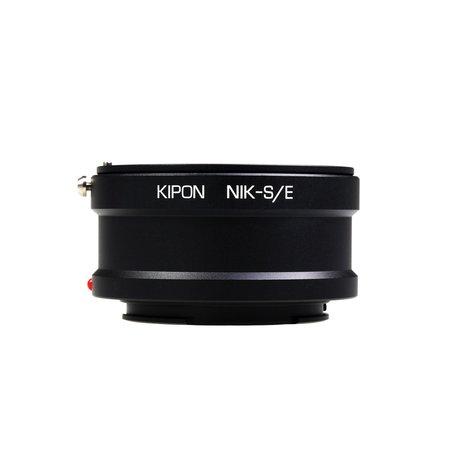 Kipon Adapter Nikon F to Sony E