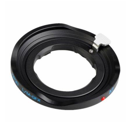 Kipon Adapter Leica M to Fuji GFX (black)