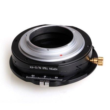 Kipon T-S Adapter für Nikon G auf Fuji X