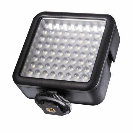 walimex pro LED-Videoleuchte 64 LED dimmbar -  SALE