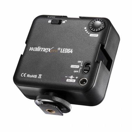 Walimex Pro LED Video Light 64 LED -  SALE