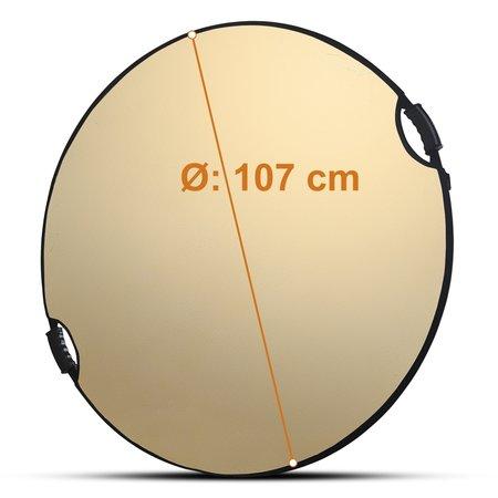 walimex pro 5in1 Faltreflektor wavy comfort Ø107cm