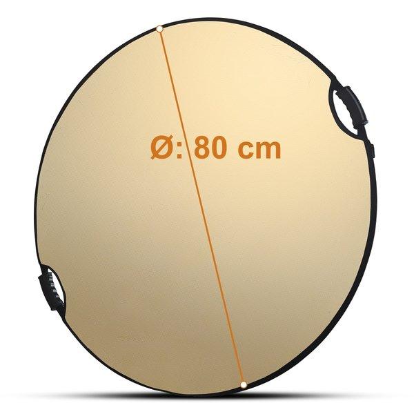 Walimex Pro Opvouwbare Reflectieset 5in1 Comfort  Ø80cm