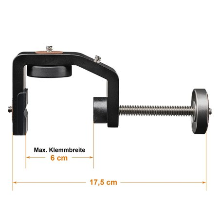 Walimex Pro Statiefkop Klem KX-25