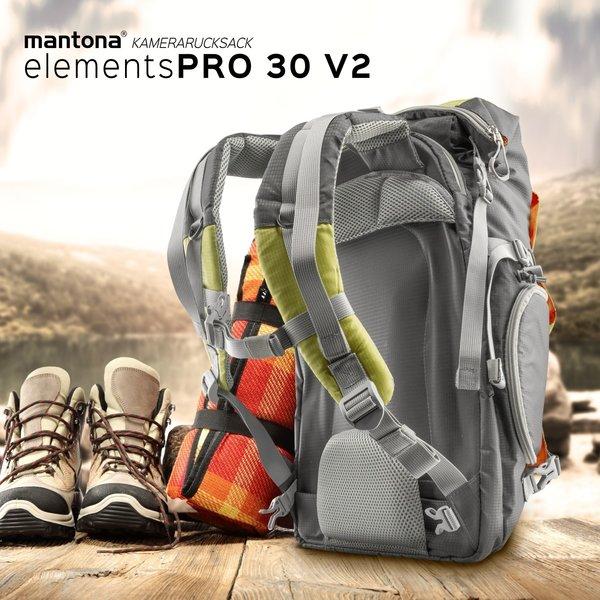 Mantona Fotorugzak ElementsPro 30V2 Groen