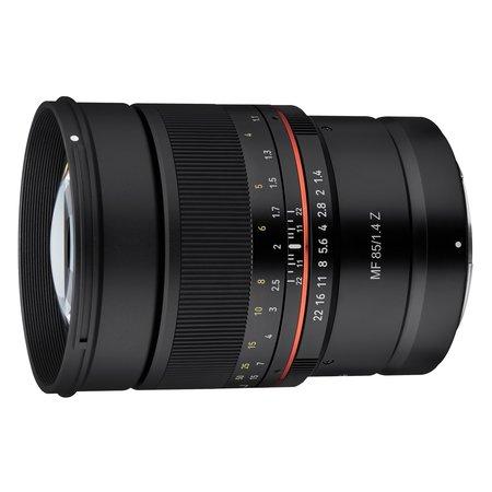 Samyang Camera Lens MF 85mm F1.4 Z for Nikon Z