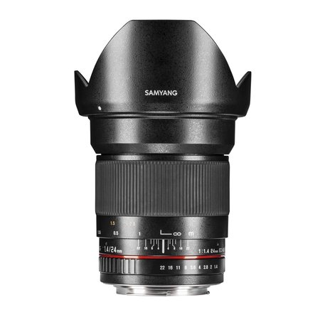 Samyang Objectief MF 24mm F1,4 Nikon F AE