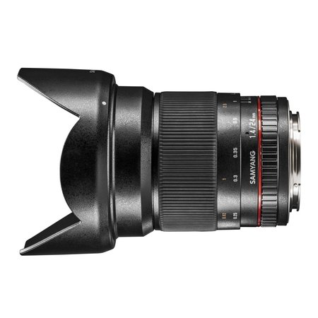 Samyang Camera Lens  MF 24mm F1,4 Nikon F AE