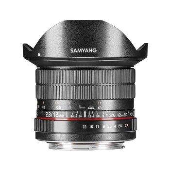Samyang Objektive MF 12mm F2,8 Fisheye Nikon F AE