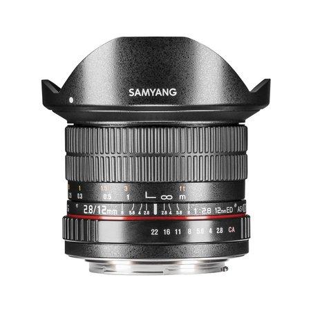 Samyang Objectief MF 12mm F2,8 Fisheye Nikon F AE