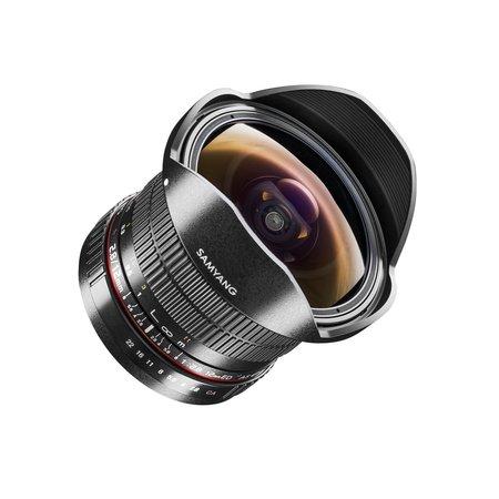 Samyang Camera Lens  MF 12mm F2,8 Fisheye Nikon F AE