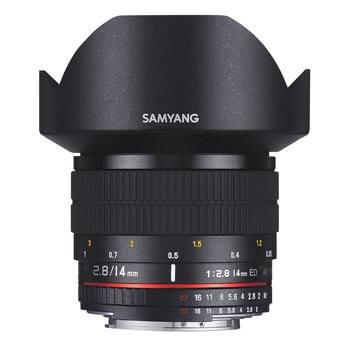 Samyang Camera Lens  MF 14mm F2,8 Nikon F AE
